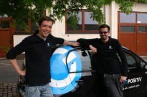 Der SPOC Arne und Timo vor einem Compositiv-Up!