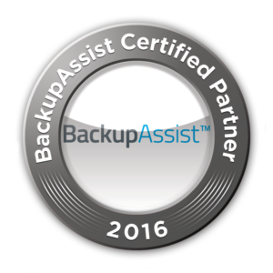 Logo BackupAssist Certified Partner