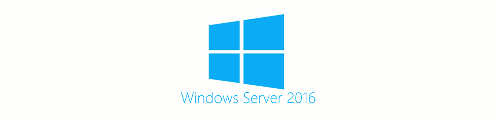 Logo Microsoft Windows Server 2016