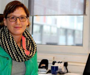 Sie stand uns Rede und Antwort: Katharina Fest leitet seit vier Jahren die Hamburger Stadtrundfahrt