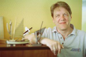 Hans-Georg Bothur, der Geschäftsführer von Hermann Jürgensens